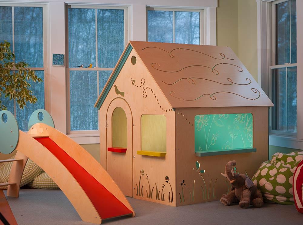 Детские домики для квартиры своими руками